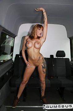 Paula Rowe sex | PornDoe Bums Bus - image