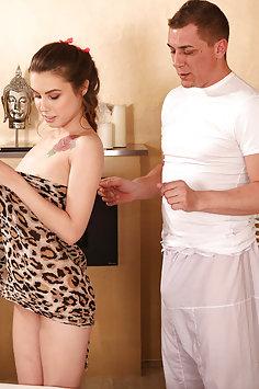 Elle Rose oil sex   Massage Rooms - image