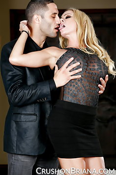 Briana Banks fucks Damon Dice - image