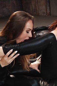 Tori Black return to porn with Aidra Fox | LesbianX - image