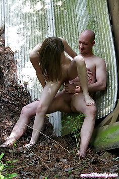 Lil Candy outdoor fuck - image