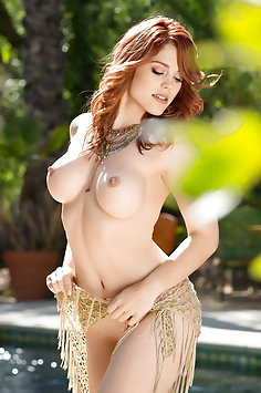 Molly Stewart wet | Playboy - image
