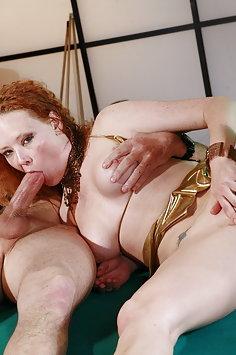 Audrey Hollander double penetration gangbang - image