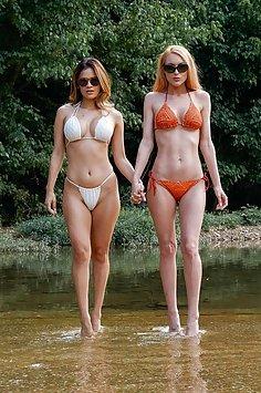 Lesbians Jenny Blighe & Vanessa Veracruz | BAEB - image