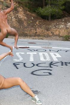 Kira Queen road fuck | PornDoe Chicas Loca - image