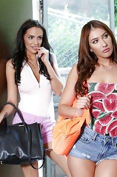 Lesbian confessions by Davina Davis & Sofi Ryan | Pimp.XXX - image