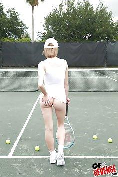 Tennis babe Ella Woods @ GF Revenge