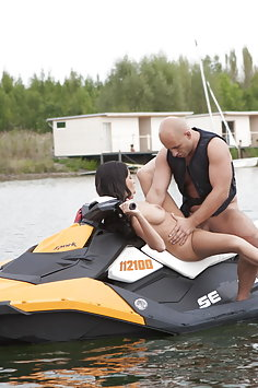 Anissa Kate sex on jetski | Penthouse - image