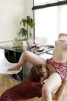 Nina Skye fucks stepbrother | Step Siblings Caught & Nubiles Porn - image