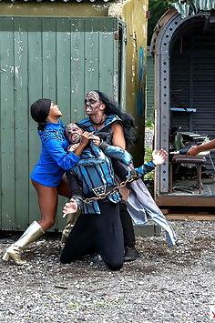 Kiki Minaj anal sex with Klingon in Star Trek parody | Digital Playground - image