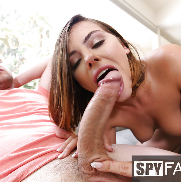 Adriana Chechik fucks stepbrother | Spy Fam