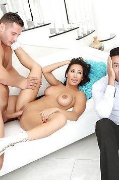 Amia Miley cuckold sex | Pimp.XXX Cucked - image