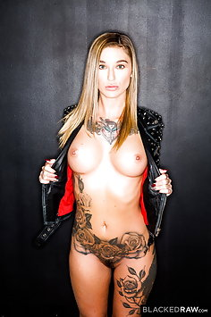 Kleio Valentien interracial | Blacked Raw - image