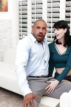 Alex Harper gets horny for stepdad during piano practice   Pimp.XXX Family - image