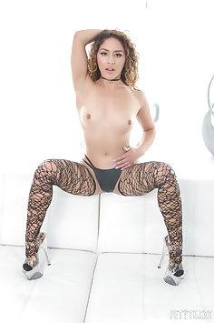 Small Liv Revamped fucks big hard cock | Pimp.XXX Petite - image