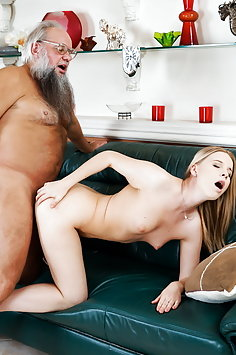 Kiara Night bangs grandpa | 21sextreme Grandpas Fuck Teens - image