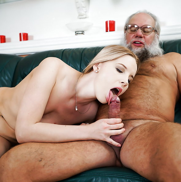 Kiara Night bangs grandpa | 21sextreme Grandpas Fuck Teens