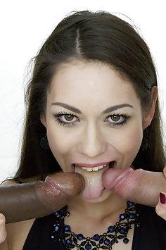 Arwen Gold & Inga Devil double anal penetration | LegalPorno - image