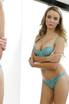Busty Jane Doux aka Pristine Edge titty fucking Damon Dice | NFbusty - image