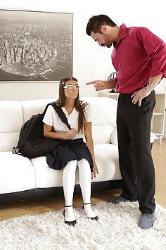 Tara Ashley fucks stepdad | Nubiles Porn: Bad Teens Punished - image