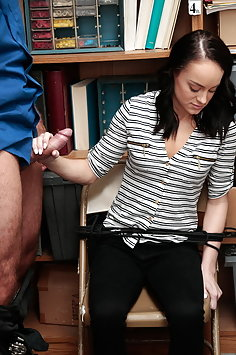 Teen shoplifter Kylie Martin pays with sex | ShopLyfter - image