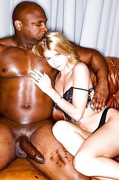 Arya Fae interracial with Davin King | BlackedRaw - image