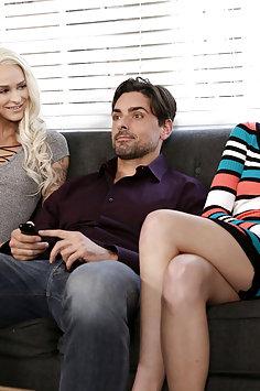 Cadey Mercury & Emma Hix threesome | NubileFilms - image