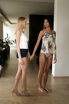 Bambi Joli's lesbian mistress Nancy A | NubileFilms - image