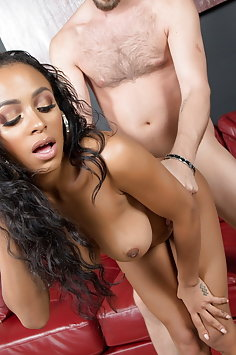 Anya Ivy interracial with white nerd | CherryPimps