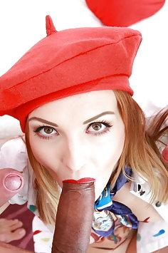 Painter Belle Clair double anal & triple penetration gangbang | LegalPorno - image