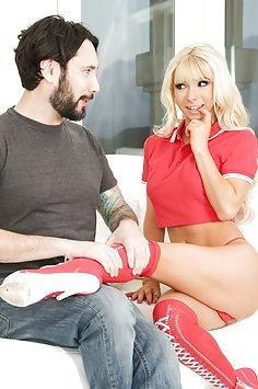 Kenzie Reeves used guy as human sex piñata | BurningAngel - image