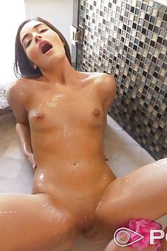 POV sponge bath & sex with Emily Willis   POVD