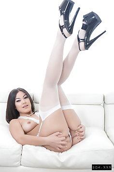 Asian Kendra Spade enjoys interracial sex with BBC Isiah Maxwell | Pimp.XXX BCM - image