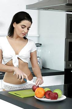 Liza Kolt breakfast sex | NubileFilms - image