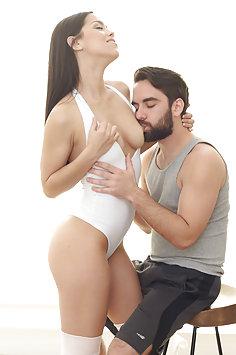Ballerina Alina Lopez riding cock   Passion-HD - image