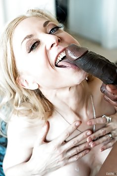 Nina Hartley interracial fuck with BBC Isiah Maxwell | XEmpire: Dark X - image