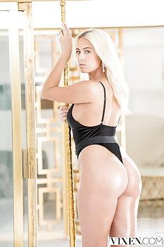 Athena Palomino in thong bodysuit fucking | Vixen - image