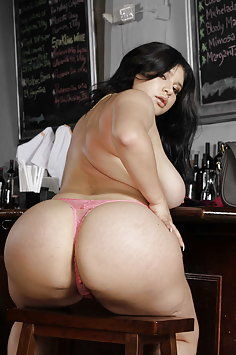 Curvy latina AliceafterDark cuckold fuck in public in coffee shop | RK 8th Street Latinas - image