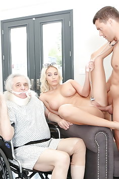 Trophy wife Athena Palomino cuckolds husband with physical therapist | Pimp.XXX Cucked - image