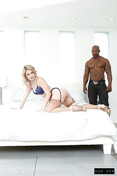 Lisey Sweet interracial anal sex with BBC   Pimp.XXX BCM - image