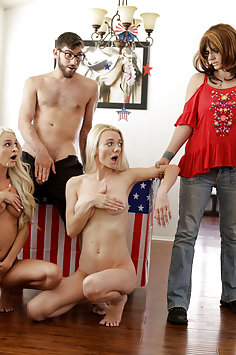 Emma Hix & Molly Mae Fourth Of July threesome | BrattySis - image