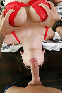 POV titty fucking and sex with busty Ashly Anderson | Mofos Lab - image