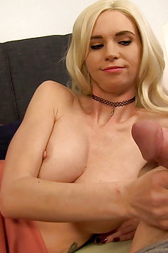 POV blowjob by busty stepdaughter Astrid Star | TabooPOV - image