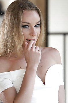Angel Emily rough choking fuck with Mike Angelo | TeenFidelity - image