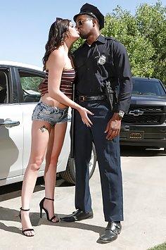 Jessica Rex fucks black cop | PImp XXX Confessions - image