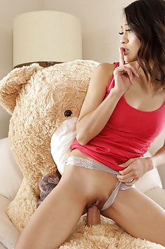 Jasmine Grey fucks furry in bear costume | Nubiles Porn: Step Siblings Caught