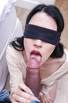 POV fucking with blindfolded Alex Coal | SisLovesMe