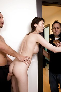 Busty wife Angelina Diamanti cuckolds husband | Brazzers: Real Wife Stories - image