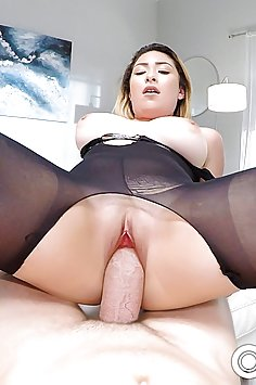 POV sex toying & titty fucking with Serena Skye | POVD - image