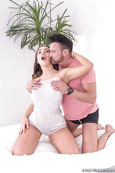 Briana Banderas with boobjob fucks husband Marco Banderas | Private - image